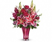 Teleflora's Bold Elegance Bouquet in Franklin LA, Franklin Flower Shop