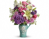 Teleflora's Natural Artistry Bouquet in Knoxville TN, Petree's Flowers, Inc.