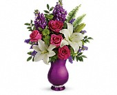 West Chicago Flowers - Teleflora's Sparkle And Shine Bouquet - Fresh & Silk Flowers
