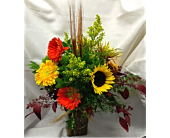 Perfectly Fall in Kingston NY, Flowers by Maria