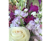 Designer's Choice Sympathy Arrangement For a Woman in Kelowna, British Columbia, Creations By Mom & Me