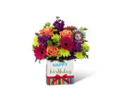 Birthday Brights Bouquet in Bradenton FL, Tropical Interiors Florist