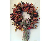 Autumn Wreath in Fort Mill SC, Jack's House of Flowers