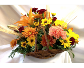 Thankful Basket in Edgewater FL, Bj's Flowers & Plants, Inc.