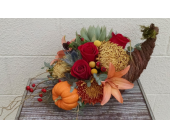 Bear Creek Fall Harvest Cornucopia  in Redmond WA, Bear Creek Florist