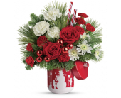 Teleflora's Snow Day Bouquet in Moline IL, K'nees Florists