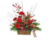 Cinnamon Basket in Moline IL, K'nees Florists