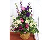 Floral Piece in Urn in Fairview PA, Naturally Yours Designs