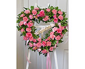 Heart Wreath in Fairview PA, Naturally Yours Designs