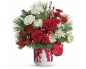 Snow Day Bouquet in Smyrna GA, Floral Creations Florist