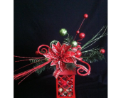 Silk christmas Lantern in New Iberia LA, Breaux's Flowers & Video Productions, Inc.