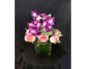 Fantasy Bed of Orchids - *New Item* in Dallas TX, Z's Florist