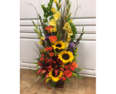 Sunflower Sympathy in Fargo ND, Dalbol Flowers & Gifts, Inc.