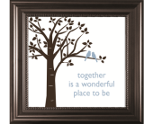 Together is a Wonderful-Bird in Isanti, Minnesota, Elaine's Flowers & Gifts