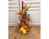 Tropical Sunrise Bouquet in Fargo ND, Dalbol Flowers & Gifts, Inc.