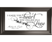 I Gave You My Heart *PERSONALIZED* in Isanti, Minnesota, Elaine's Flowers & Gifts