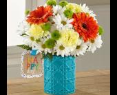 The FTD� Happy Day Birthday� Bouquet by Hallmark