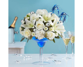 Toast to new year in Aston PA, Wise Originals Florists & Gifts