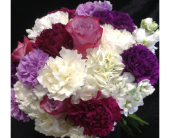 Purple and white Bouquet in Fairview, Pennsylvania, Naturally Yours Designs