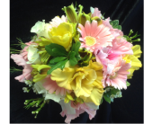 Pink and Yellow Bouquet in Fairview, Pennsylvania, Naturally Yours Designs