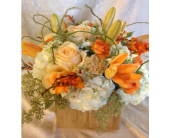 Peachy bliss in Sonoma, California, Sonoma Flowers by Susan Blue