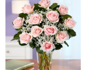 Dz. Pink Roses in Kennesaw GA, Kennesaw Florist