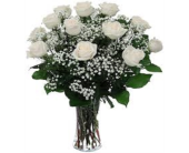 Dz. White Roses in Kennesaw GA, Kennesaw Florist