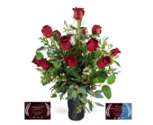 Award Winning Exclusive Black Pearl Roses in Wichita KS, Tillie's Flower Shop