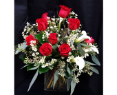 Romantic in Red in Westfield IN, Union Street Flowers & Gifts
