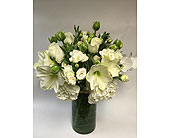 All White Floral in New York NY, Fellan Florists Floral Galleria
