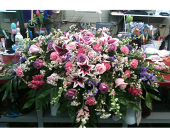 Casket Spray in Tuscaloosa, Alabama, Amy's Florist