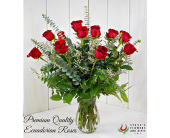 Premium Quality Red Roses in Pendleton IN, The Flower Cart