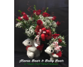 Mama Bear & Baby Bear in Old Bridge NJ, Flower Cart Florist of Old Bridge