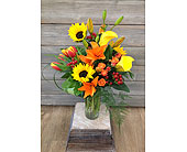 Romantic Sunset in Smyrna GA, Floral Creations Florist