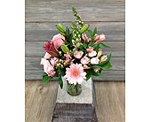 Love & Blush Bouquet in Smyrna GA, Floral Creations Florist