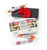 Handmade Taffy Cigar Box - by GiftTree Flowers