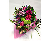 LG -  Handtied Bouquet in Belleville ON, Live, Love and Laugh Flowers, Antiques and Gifts