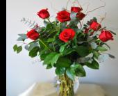 Bozeman Flowers - Classic Dozen Roses - Country Flower Shop