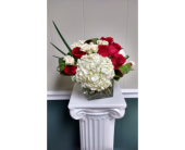 Rose & Hydrangea Cube in Athens GA, Flower & Gift Basket