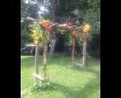 Custom Arch in Springwater, Ontario, Bradford Greenhouses Garden Gallery