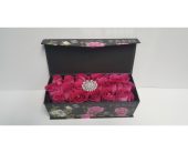 Paris Flower Rose Gift Box in Miami FL, Anthurium Gardens Florist