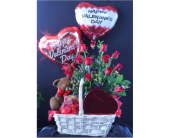 All My Love Basket in Nashville TN, Flower Express