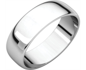 Half Round light wedding band in Winter Haven FL, DHS Design Guild