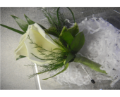 Boutonniere1 in Valley City OH, Hill Haven Farm & Greenhouse & Florist