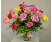 Rainbow Roses Premium in Utica NY, Chester's Flower Shop And Greenhouses