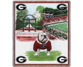 UGA Bulldog Throw in Kennesaw GA, Kennesaw Florist