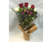 Freesia and Roses Mixed Bouquet in West Los Angeles CA, Sharon Flower Design