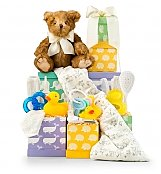 New Arrival Baby Tower - by GiftTree Flowers