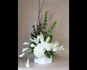 Elegance in Ivory in Birmingham, Michigan, Tiffany Florist