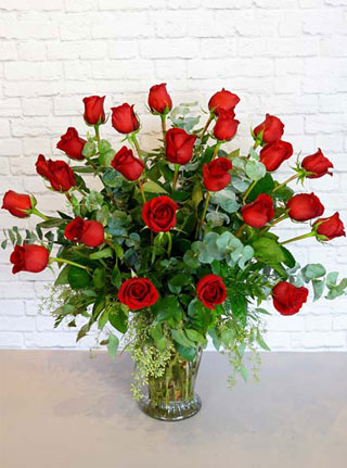 Two Dozen Premium Roses in Omaha NE, Stems Florist